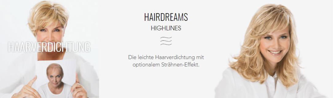 Haarverdichtung Highlines
