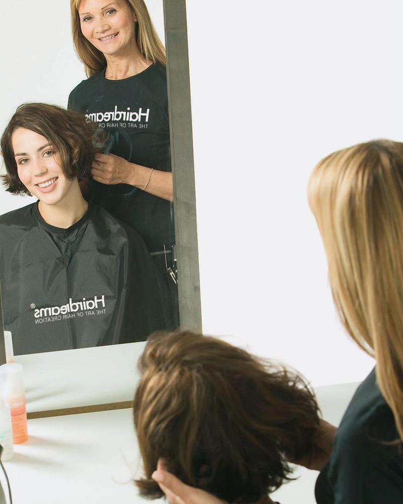 Pflegeservice-Haarverdichtung